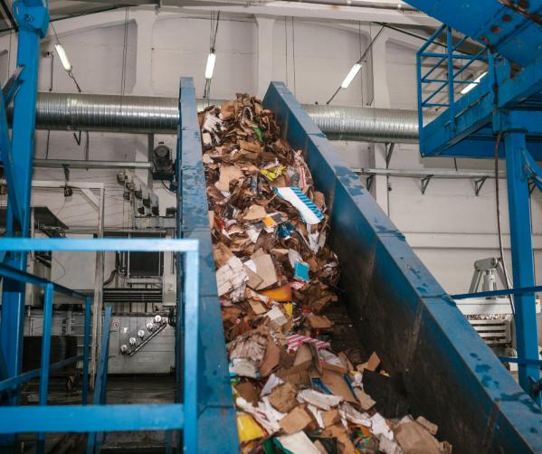 Sortowacz odpadów komunalnych